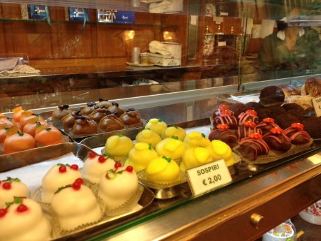Italian sweets from Giolitti