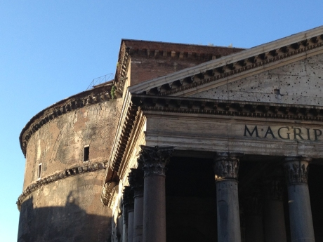 Detail, Pantheon exterior