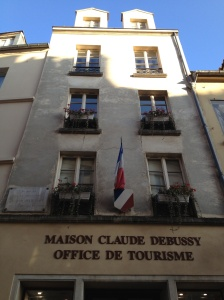 The house that French composer Claude Debussy was born in is now the tourist office in Saint Germain-en-Laye.