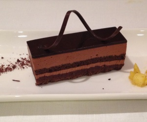 Chocolate mousse plus