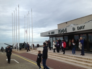 Entrance to D-Day Museum at Arromanches